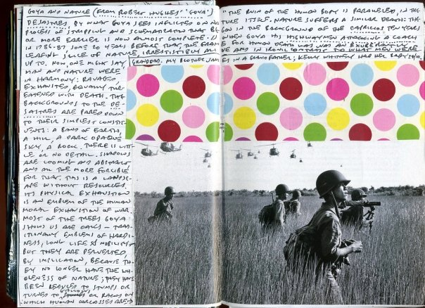 Journal pages, John Hardaker 2009
